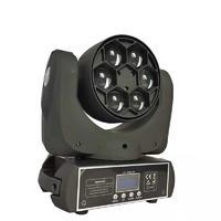 6Pcs 15W Led Mini Bee eye Moving Head Light
