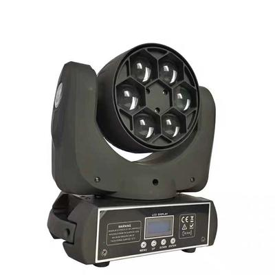 6Pcs 15W Led Mini Bee eye Moving Head Light