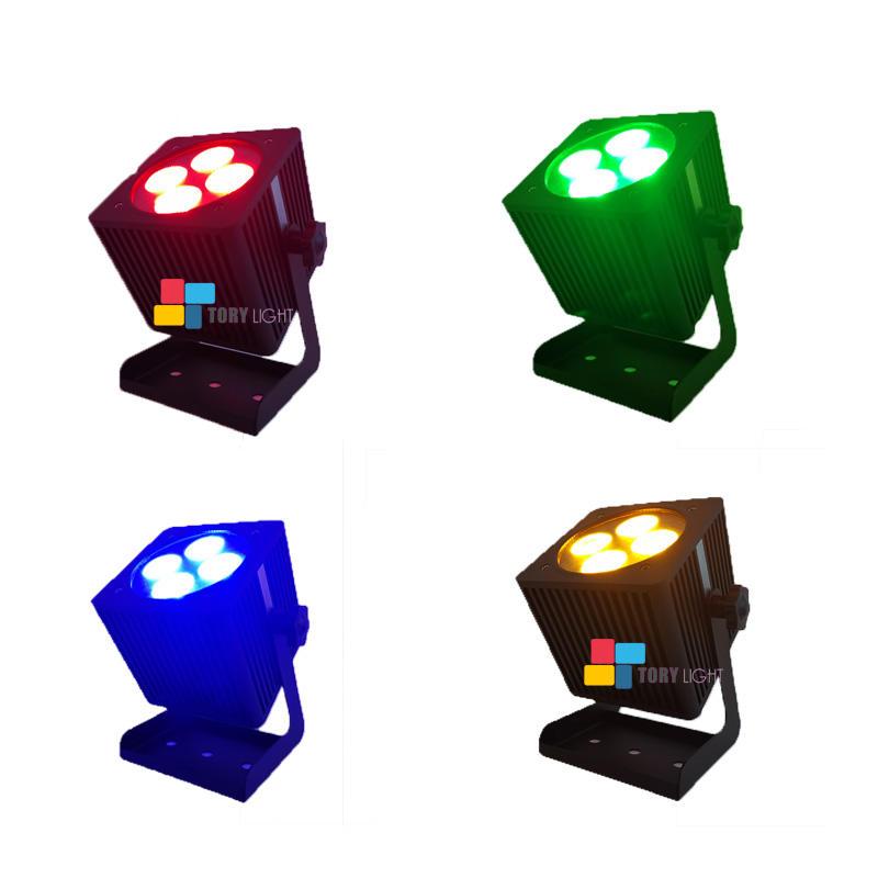 Wireless Outdoor LED Wifi Battery 4*15W Par Light
